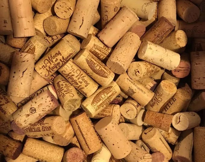 Box of corks ready to ship / regular and rubber included