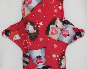 Valentine Animal reusable cloth pad