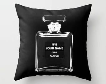 Personalized Pillow, Fashion Pillow, Velvet Pillow Cover, Fashion Decor, Girls Room Decor, Dorm Decor, Teen Girl Room Decor, Gifts for Her