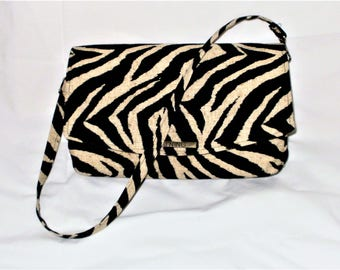 Zebra Handbags, Zebra Shoulderbags, Zebra Purses, Cross Body Bags, Animal Print Handbags, Novelty Bags, J'NING Handbags