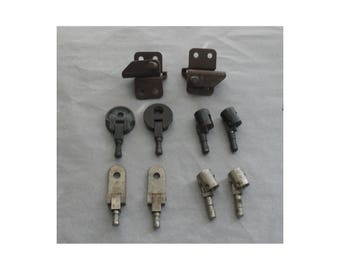 Five Sets of Cabinet/Carrying Case Hinges