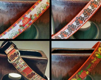 Thanksgiving Dog collars, Fall Dog collars, Dog accessories, Fall accessories