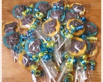 Elephant chocolate favors