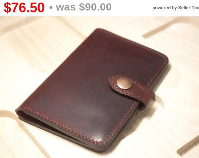Campari Leather Travel Wallet/Passport holder/Campari Leather Travel Organizer/