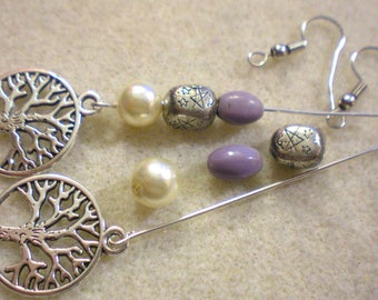 BO Zen Yoga Kit * tree of life AISHANI * silver plated hooks