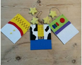 Toy Story inspired bunting
