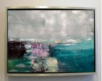 Abstract Landscape 12 Original Oil Painting (50cm x 40cm)