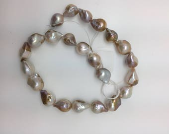 Organic Baroque Pearls