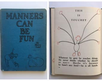 "1938 ""Manners Can Be Fun"" by Munro Leaf 