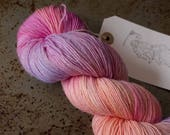 Joy in the Morning - 4ply/fingering/sock yarn/hand dyed/hand painted/wool/british wool/bluefaced leicester