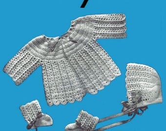 A Doreen Crochet & Knit Baby E-Pattern Book