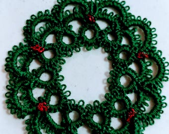 Tatted Wreath Ornament