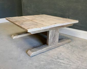 Chunky Reclaimed Timber Coffee Table