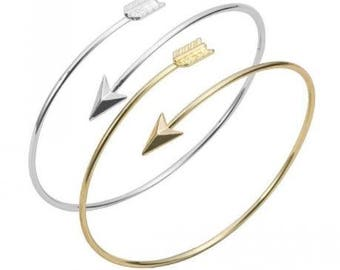 Arrow Bracelets (gold OR silver)