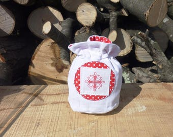 Small pouch with cross in the Languedoc
