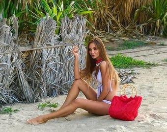 Crochet Beach Bag!!!