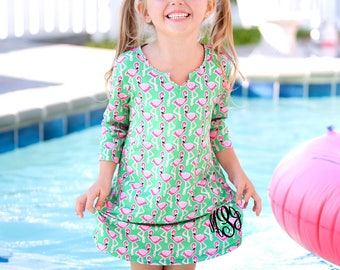 Girls' Swimsuit Coverup / Monogrammed Swimsuit Coverup