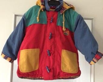 Vintage Lindeks European Kids Jacket size 98 Hood