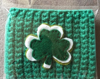 St. Patricks day cup cozy