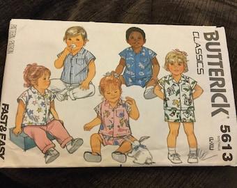 Butterick Vintage Infants Pattern 5613
