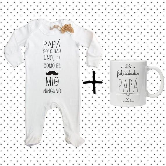 """Pijama Organico  """"Felicidades Papa"""""""