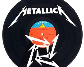 Metallica - Vinyl Record Art/Clock