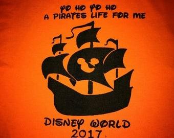 Disney Family Shirts - Pirates Life for me - pirates shirt - matching family shirts