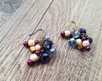 "Earrings chic and glamorous ""Odelina"""