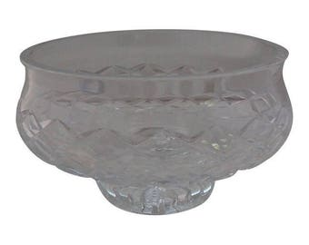 """Waterford """"Comeragh """"Crystal Cut Glass Center Piece Bowl, Weddings,Giftware,Decorative Bowl"""