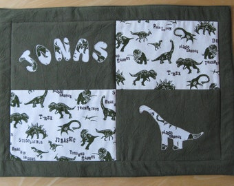 Placemat - dino - personalized