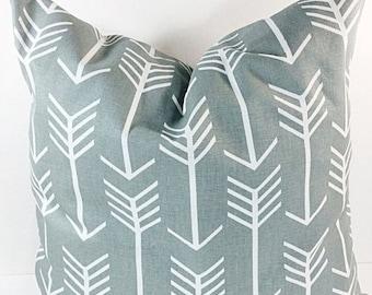 SALE Gray Pillow. arrow. PILLOW. Cushion Covers.Pillow Case.1 piece. cotton.Select your size