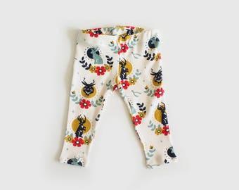 baby jackalope leggings