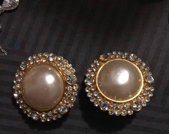 RARE Vintage Chanel Earrings