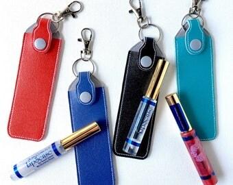 Lip Gloss Holder for Lipsense Distributor - Key Chain Lipsense Case - Custom Chapstick Holder Keychain - Senegence Lipstick Case Organizer