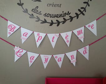 paper Garland Bunting theme greed