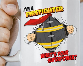 Firefighter Gift - Firefighter Gifts - Gifts for Firefighters - Firefighter Birthday Gift for Firefighter - Male or Female Firefighter Gift