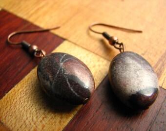 3580 -  Earrings Jasper