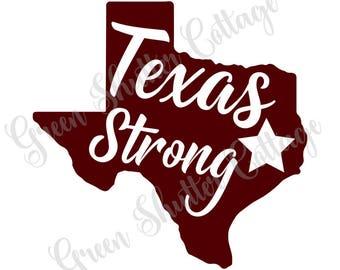 Texas Strong SVG