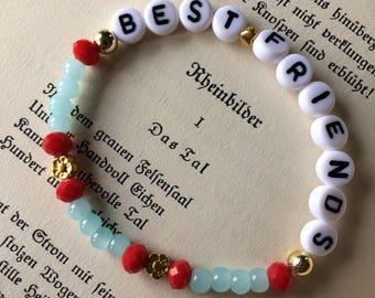 "Set ""best Friends"" 2 bracelets"