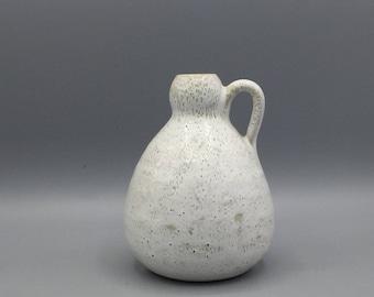 Albert Kiessling Studio handthrown Ceramic  Modern Art vase - 1960 -   GDR pottery.