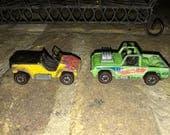 Vintage Hot Wheels redlines Baja Bruiser & Sand Drifter toy cars lot