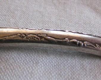Sterling Silver Adapted Gorham Spoon Salt Cellar size