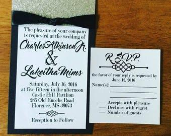 Wedding Invites, Wedding Invitations & RSVP