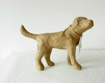 DECOUPAGE DECOPATCH Small DOG, Paper Mache Craft, Brand New