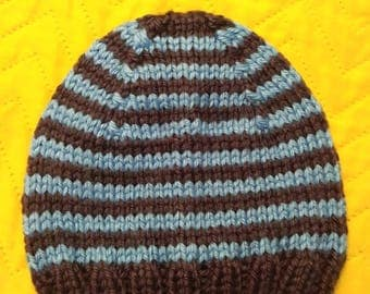 Handmade Pointy Hat 0-3 Months Boy Acrylic Soft