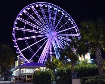 "Title ""Myrtle Beach Pavilion Sky Wheel - Myrtle Beach, South Carolina - October 2016"
