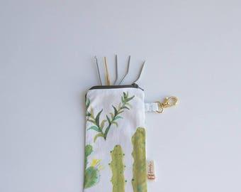 Rafael-hand made cotton clutch bag