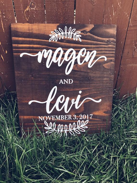 Wedding Sign | Welcome Sign | Wedding Decor | wooden Wedding Sign