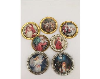 Chirstmas Brooches