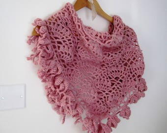 hand made woman shawl